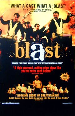 Blast Theatrical Window Card Click Add to Cart to Order