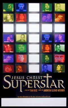 Jesus Christ Superstar Window Card Click Add to Cart to Order