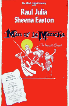 Man of La Mancha Window Card Click Add to Cart to Order