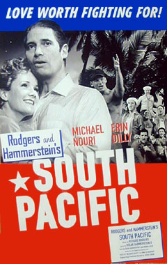 South Pacific Window Card Click Add to Cart to Order