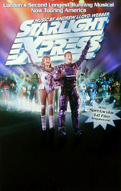 Starlight Express Window Card Click Add to Cart to Order